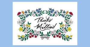 感謝のメッセージと一緒に贈りましょう