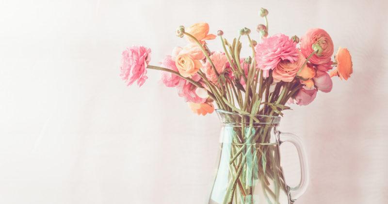 インテリアにもなるおしゃれなお花