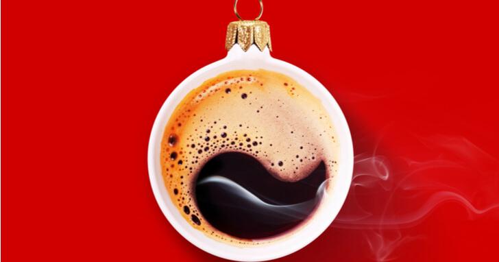 寒いクリスマスに身体が温まる、ホットな飲み物も