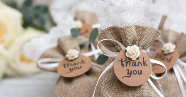 引き出物はゲストと幸せを共有する大切な贈り物