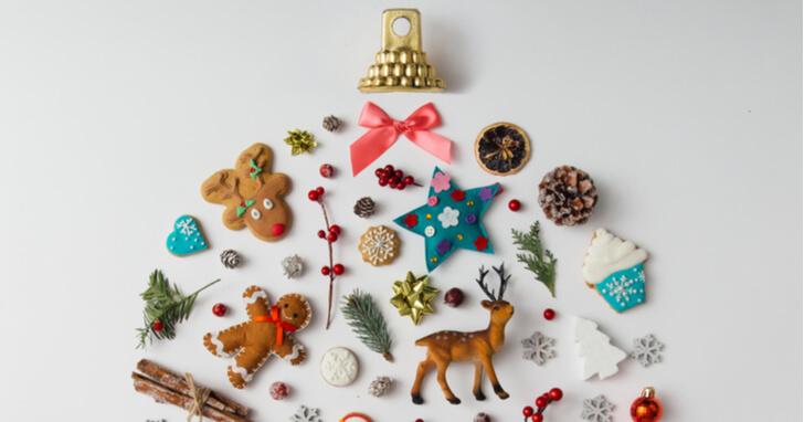 楽しいクリスマスパーティー、盛り上がるプレゼントを