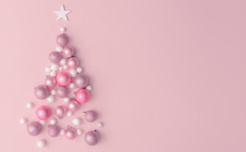 ピンク クリスマスツリー