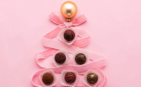チョコレート クリスマスツリー