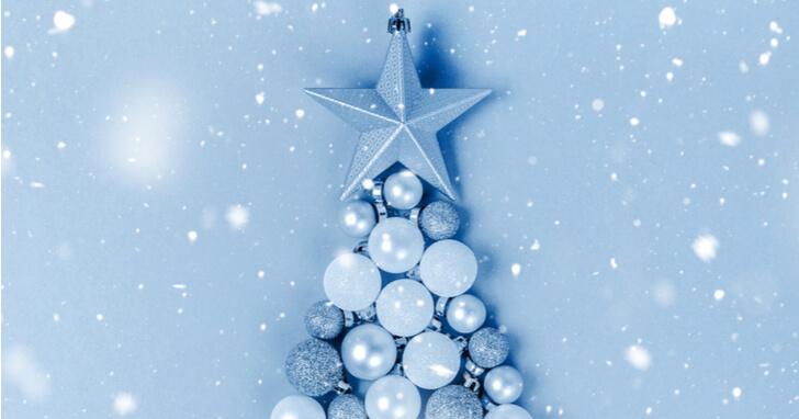 ブルー クリスマスツリー