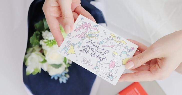 おしゃれでかわいい!MOO:D MARKのメッセージカード