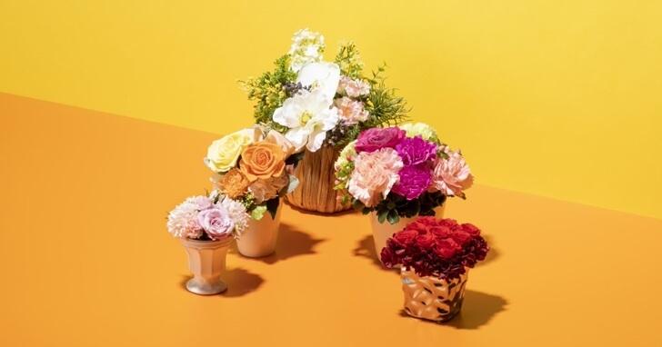 母の日の贈り物といえば【花のプレゼント】