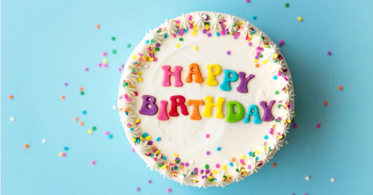 誕生日に欠かせないものと言えば、ケーキ!