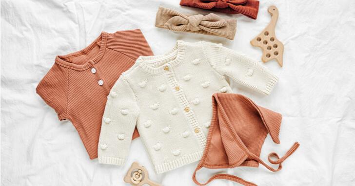 子どもの可愛らしさを引き立てるベビー服(女の子向け)